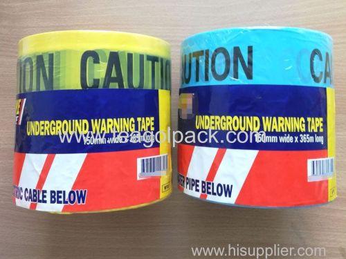 Underground Caution Tape 150mmx365M Undetectable Warning Tape 150mmx365M