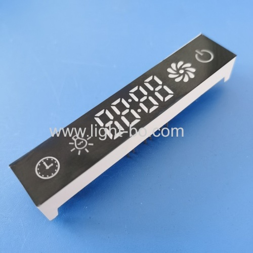 Ultra white Custom made 7 segment led display module for Kitchen Hood Control