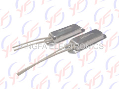 Boat style aluminum shell power fixed resistors