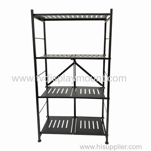 4 Tier Rolling Storage Cart Organizer