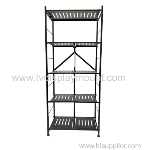 5 Tier Rolling Storage Cart Organizer