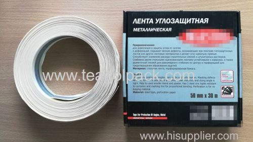 Metal Cormer Tape with Steel 50mmx30M