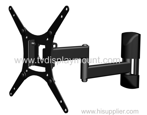 "Full Motion LCD TV Wall Mounts 10""-42"" Screen 180° Swivel"