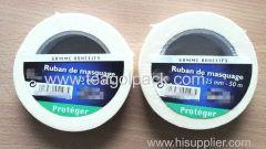 Masking Adhesive Tape White 25mmx50M