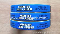 Masking Tape General Purpose 18mmx50M White