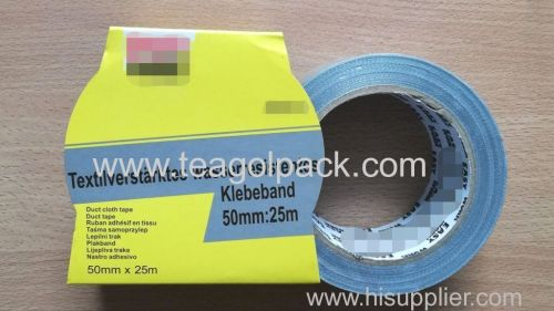 Cloth Duct Tape 50mmx25M Silver