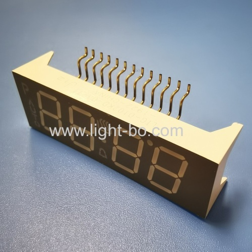 Customized Ultra Red 0.56 4 Digit LED Display Common Anode for Oven Control