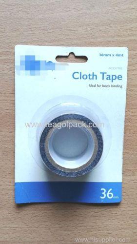 Cloth Duct Tape Black 36mmx4M