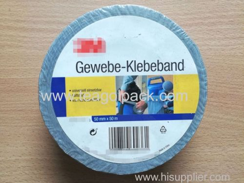 General Purpose Cloth Duct Tape Silver 50mmx50M