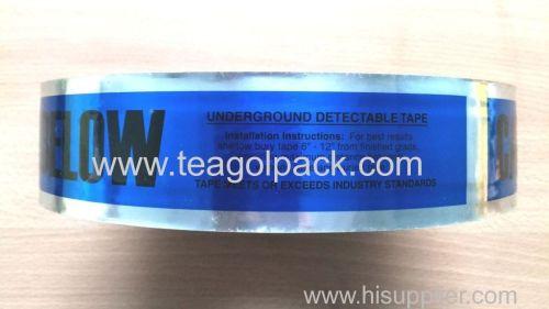 Jumbo Roll Underground detectable Caution Tape