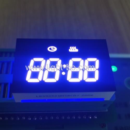 индивидуальный дизайн низкая стоимость ультра белый 4-значный светодиодный дисплей часов для управления таймером духовки