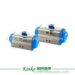 rotary angle stroke pneumatic actuator