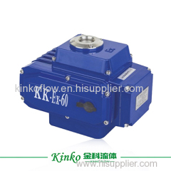 explosion-proof electric actuator for ball valve