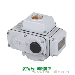 limit position switch type electric actuator