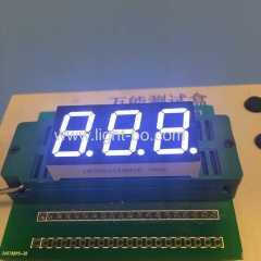 0.56 дюймовый 3-значный ультра белый 7-сегментный светодиодный дисплей общий анод для приборной панели