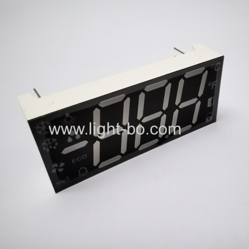 Ultra Red Triple Digit 17mm 7 Segment LED Display common anode for Refrigerator Controller