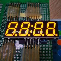 ультра тонкий оранжевый цвет 0.56 дюймовый 4-значный 7-сегментный smd светодиодный дисплей для бытовой техники