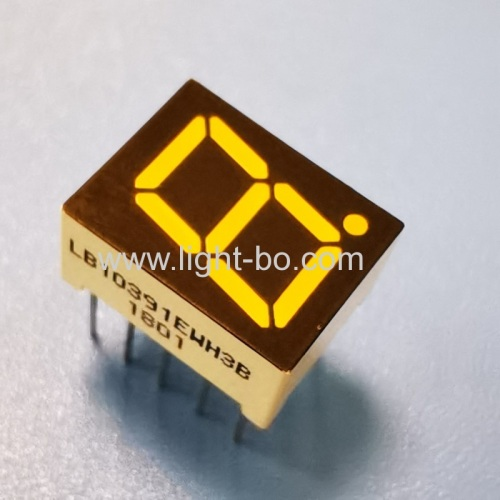 Ultra bright white Single-Digit 0.39 Common Cathode 7-Segment LED Display for instrument panel