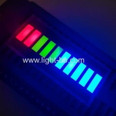 10 segment; led bar;led bar gradh;led bar array;multicolour led bar
