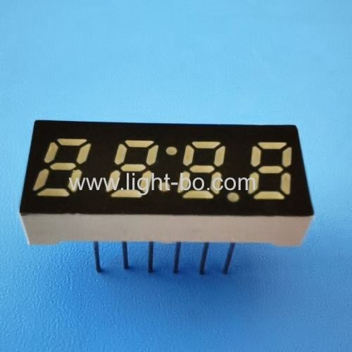 Ultra blue small size 0.25 4 Digit 7 Segment LED Clock display for home appliances