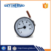 Indoor User-friendly custom dial capillary thermometer 0-120C for boiler
