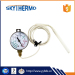 outdoor ss304 case remote reading dial type stress stainless steel capillary thermometer