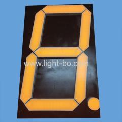 ультра яркий желтый 16-дюймовый большой 7-сегментный светодиодный дисплей для цифрового индикатора обратного отсчета