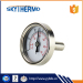industrial pipe use water testing boiler bimetal back connection thermometer
