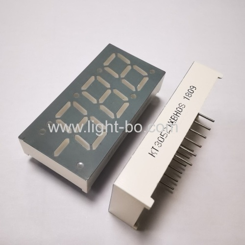 Ultra Blue 0.52  common anode 3 digit 7 segment led display for Refrigerator control Panel
