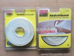 22mm Wx5m L Wall&Countertop Caulk Strip Tape White