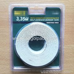 22mm Wx3.35m L Industrial Tools Self-Adhesive Border Tape White