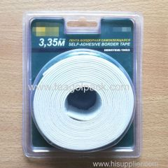 40mm Wx3.35m L Industrial Tools Self-Adhesive Border Tape White