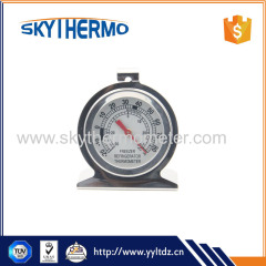 Manufacturer product High accuracy freezer stainless steel types of thermometer