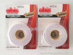 24mm Wx1.5Yds L Double Sided EVA Foam Tape White