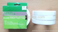 18mm Wx2.6m L Double Sided EVA Foam Mounting Tape 3PACK ..Release Film: White+White Foam Tape