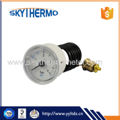 37mm plastic capillary manometer easy and remote reading pressure gauge manometer