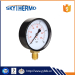iron case bottom connection pressure gauge manometer 0-10bar u tube manometer