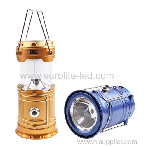 euroliteLED Solar Lantern DC 5V SixLEDLamp beads Hand-held design Durable endurance