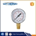 "2"" (50mm) black iron pressure meter/manometer for sale range 0-4bar/60psi"