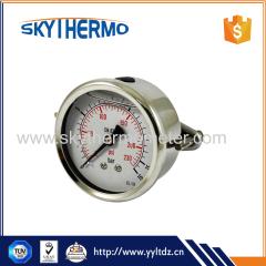 SS Case U-Clamp General U Tube bar psi Manometer