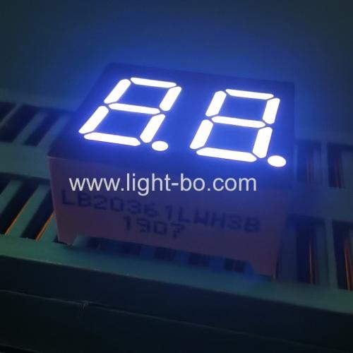"2 digit display;0.36inch white display; 2 digit 0.36"" white;9.2mm white display"