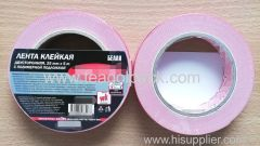 25mm Wx5m L Double Sided Adhesive Foam Tape ..Release Film: Red+White Foam Tape