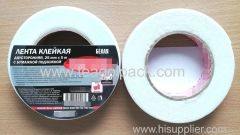 25mm Wx5m L Double Sided Adhesive Foam Tape ..Release Film: White+White Foam Tape