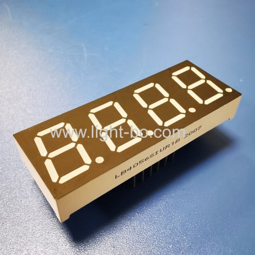 Ultra bright Red 0.56 4 Digit 7 Segment LED Display Common Anode for Instrument Panel Controller