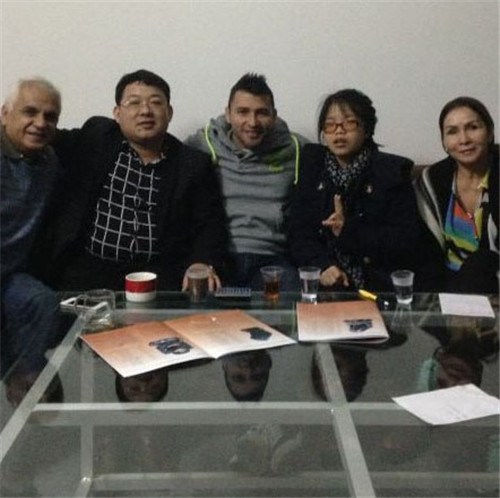 Luis' Family from Columbia Start Cooperate with us