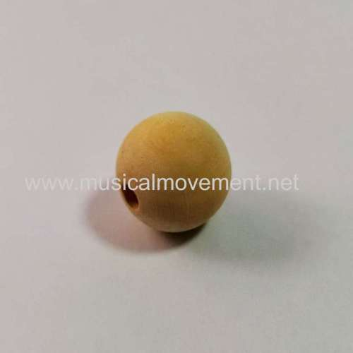 Musical Pull Toys Accessores Nature Wood Ball Knob