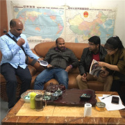 Atik from Bangladesh and Partners come to Negotiate the Trussing and Stages