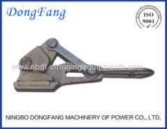 Automatic come along clamps for stringing Transmission line ground wire