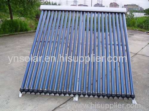 24tubes Heat Pipe Solar Collector
