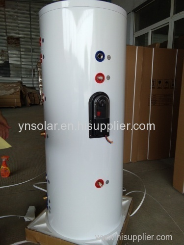 Color Steel Split Pressurized Solar Water Tank with doubel coil